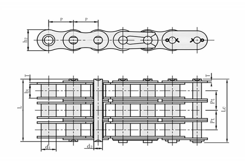 A系列短节距精密滚子链-3