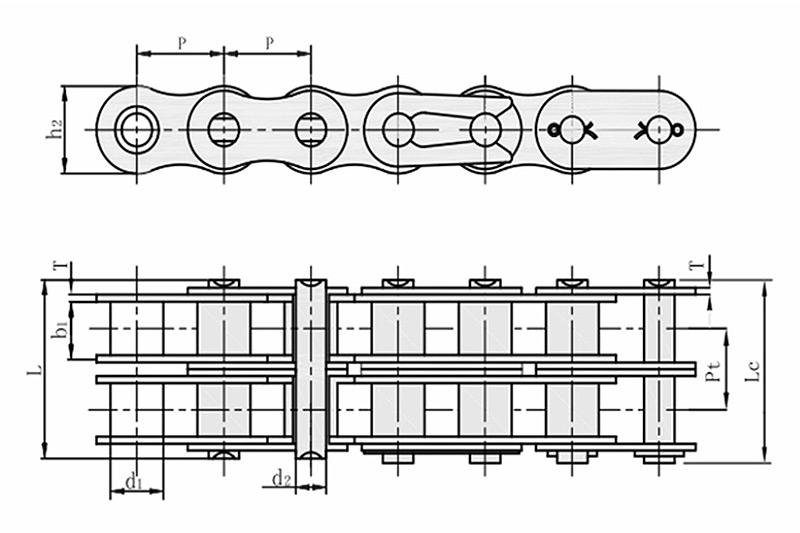 A系列短节距精密滚子链-2