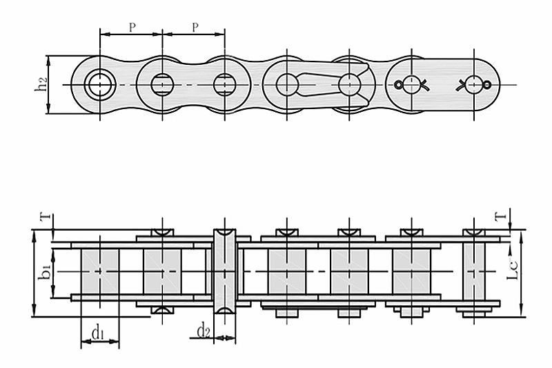 A系列短节距精密滚子链-1