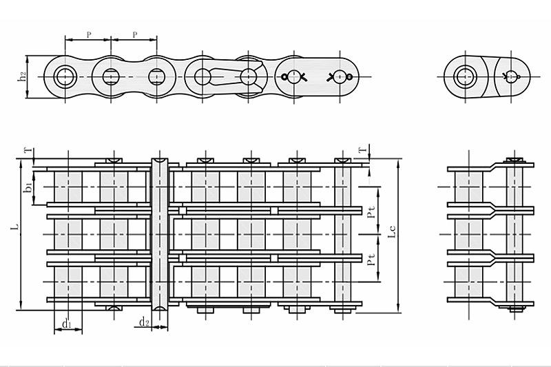 B系列短节距精密滚子链-3