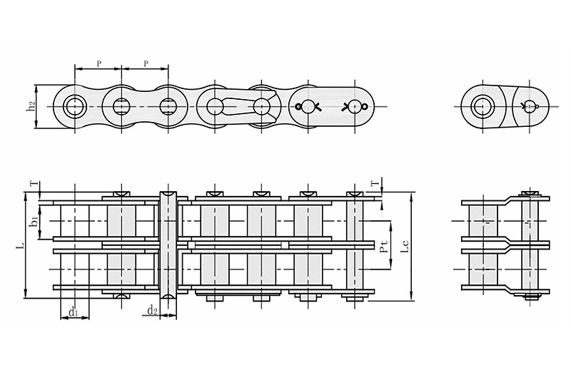 B系列短节距精密滚子链-2