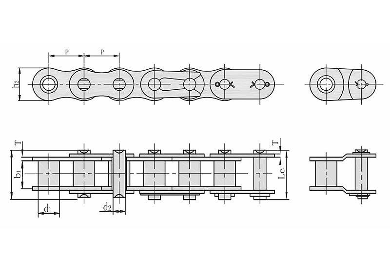 B系列短节距精密滚子链-1