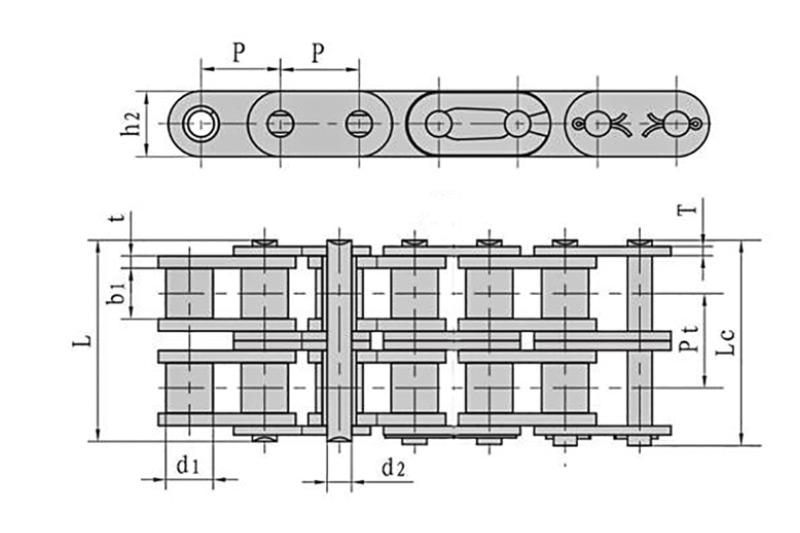 A系列直板滚子链-3