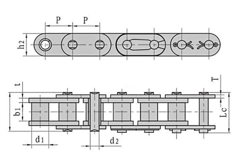 A系列直板滚子链-1